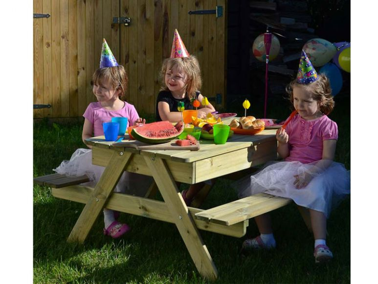 sandpit table for children
