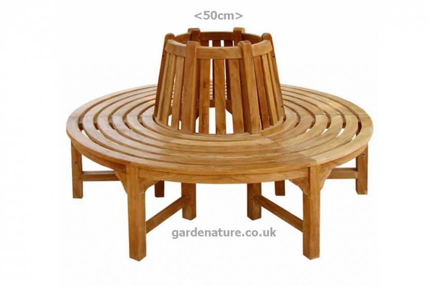 round tree bench