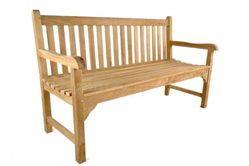 grade a teak 3 seater bench