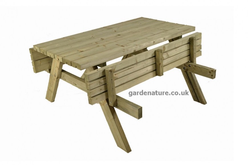 fold up picnic bench