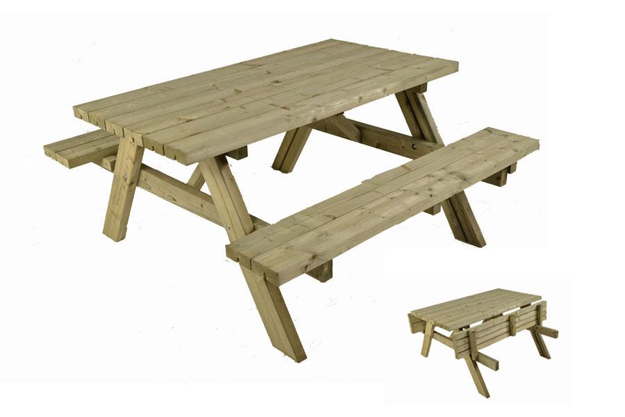 Heavy Duty Picnic Table Gardenature Co Uk