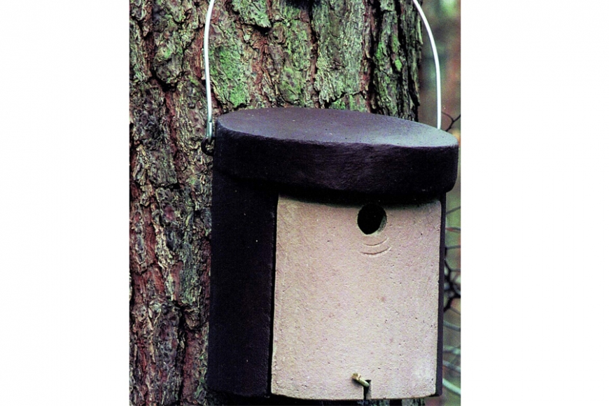 Nuthatch box 5kl | gardenature.co.uk
