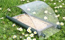 bird feeder for the ground