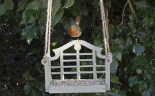 Lutyen swing seat bird feeder