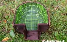hedgehog house   gardenature