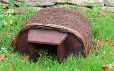 Hedgehog haus   gardenature.co.uk