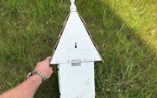 dovecote nest box rear