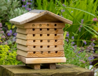 Bees Houses, Beehives and Bee Nesters | Gardenature