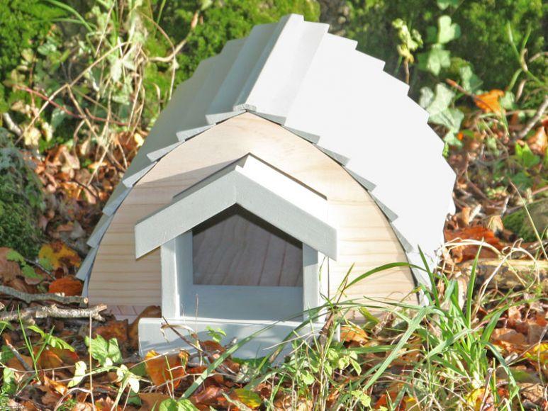 hedgehog homes in the garden
