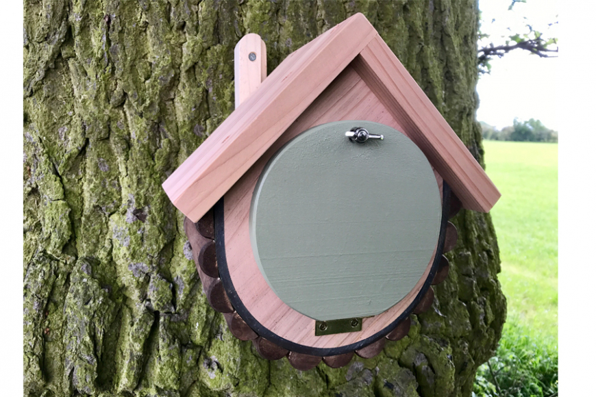 woodland dormouse box | gardenature.co.uk