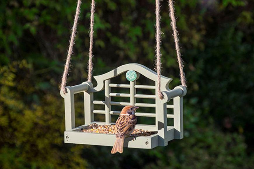 National Trust swing seat feeder