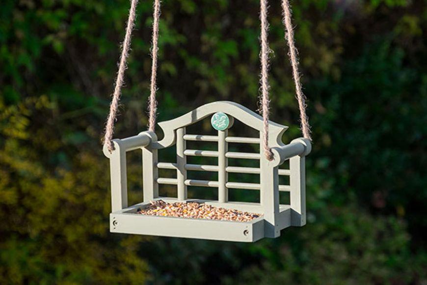 Swing seat bird feeder, NT