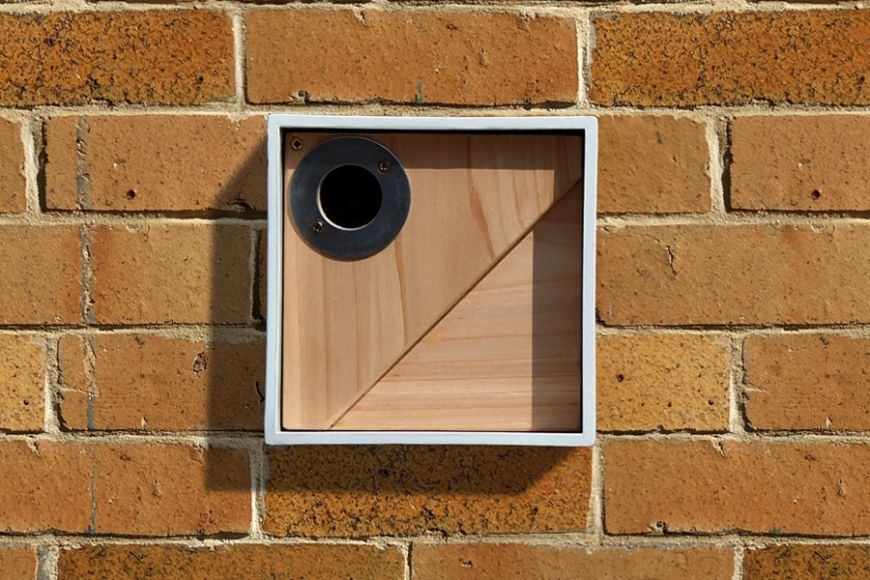 wall hanging bird boxes