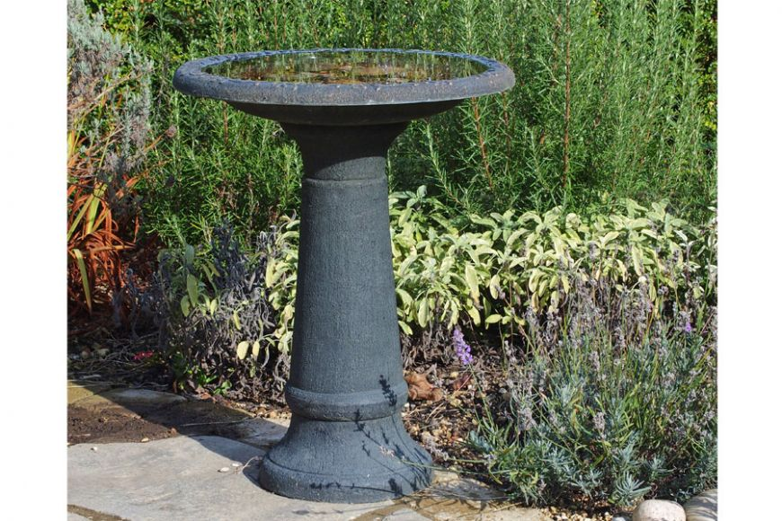 coniston bird bath and tall stem
