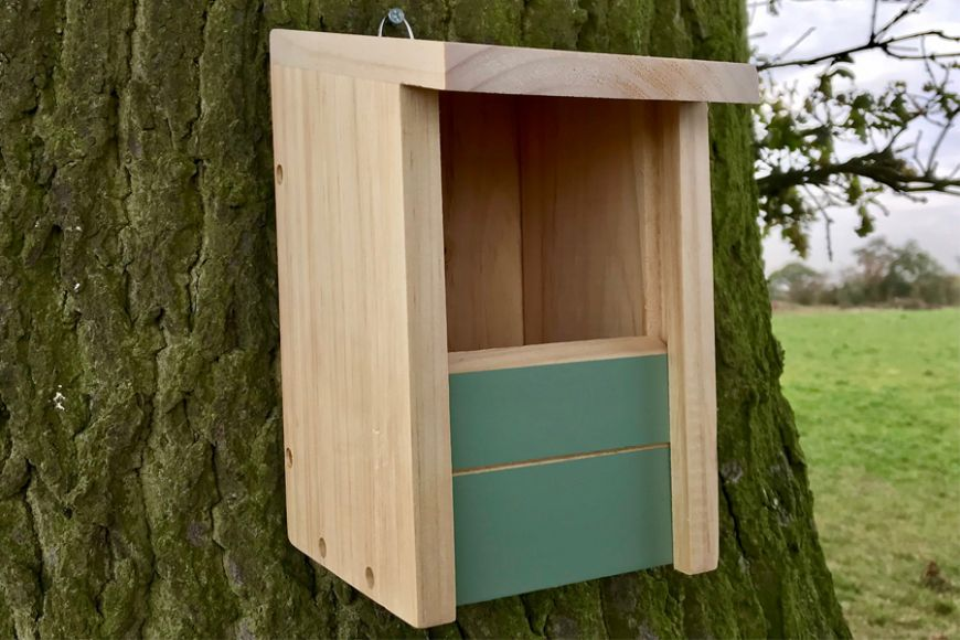 triple action nest box | gardenature.co.uk