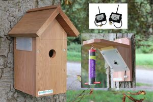 Wireless Bird Box and Feeder Camera System. Ultra Hi Res