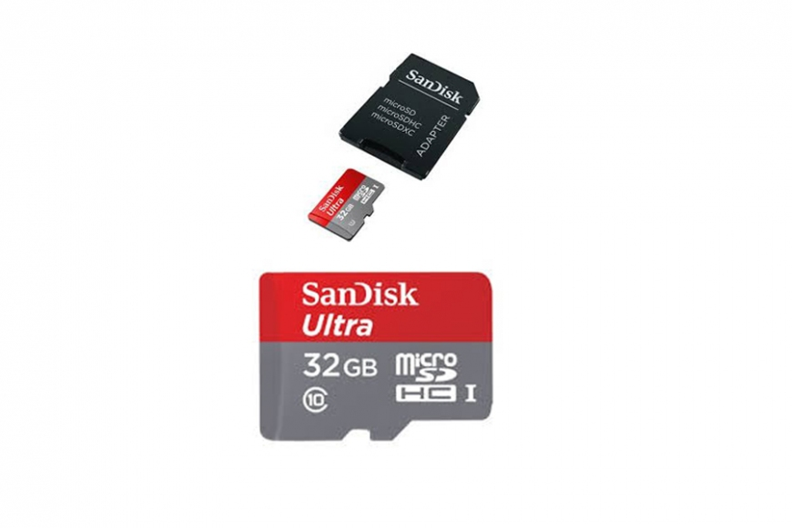 Micro sd card with adaptor