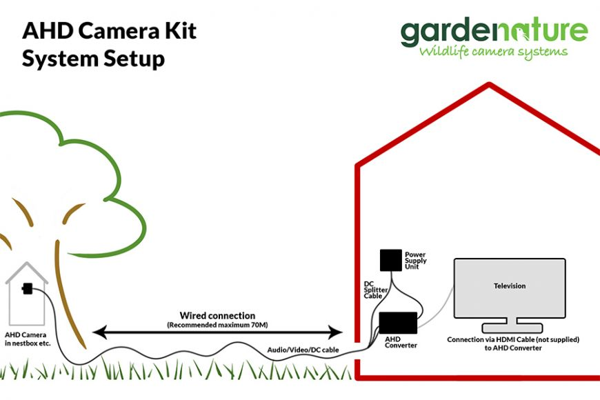 AHD nest box camera setup guide