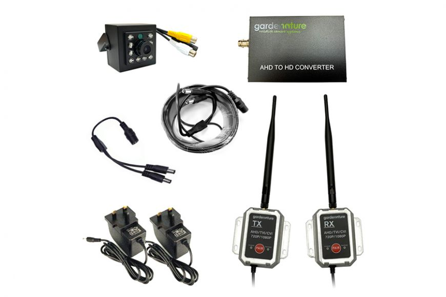 AHD camera wireless conversion kit
