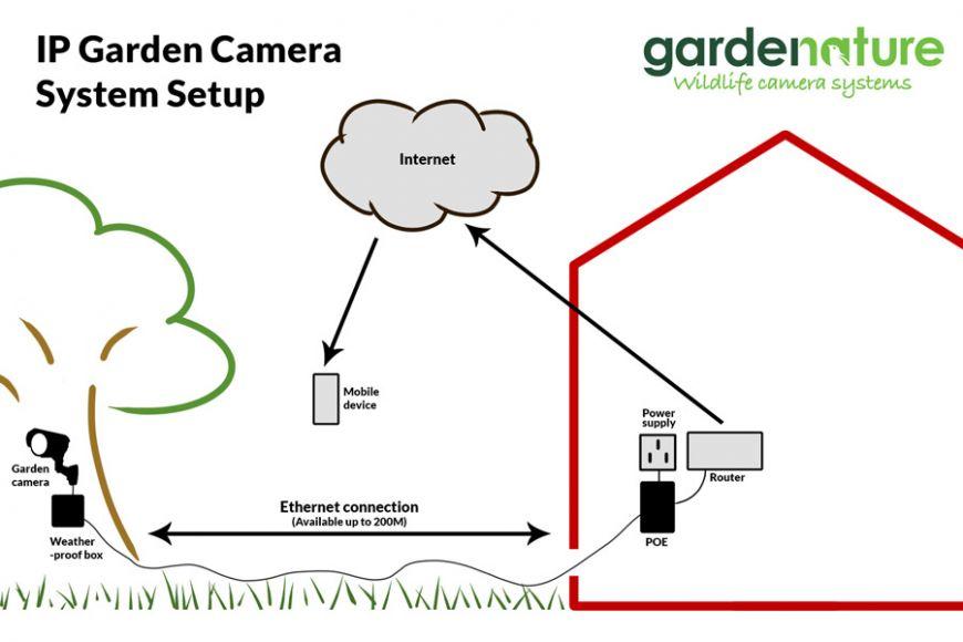 IP Camera set up | Gardenature