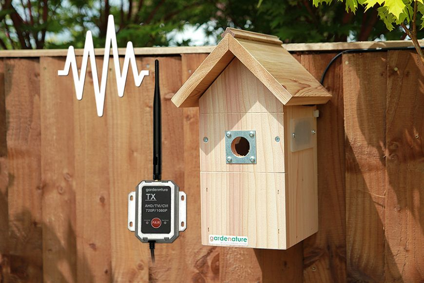 Wireless AHD Camera Nest Box System - Pitched Roof