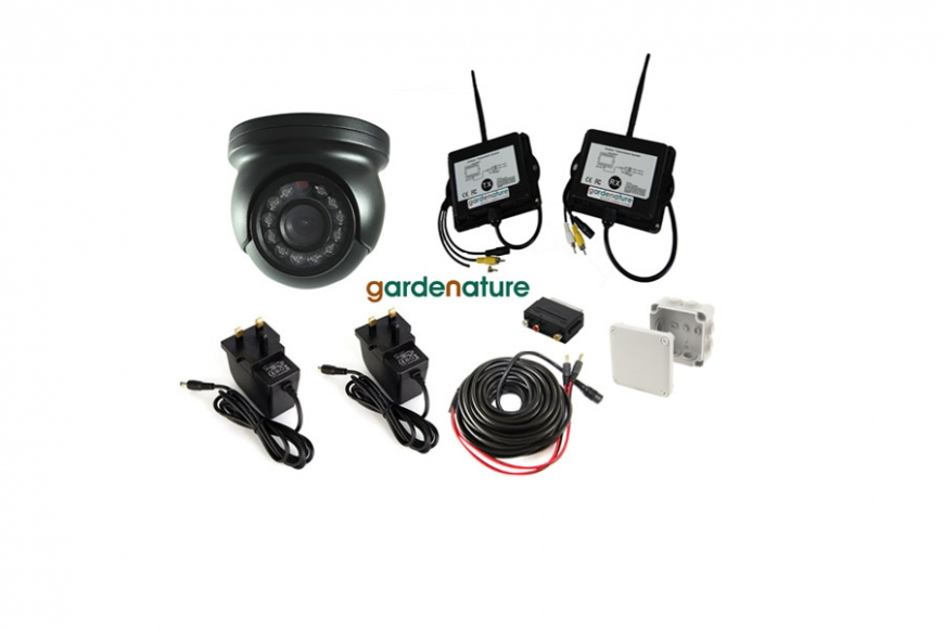 Wireless mini eyeball camera