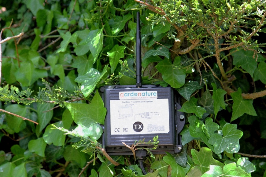 wireless transmission, gardenature.co.uk