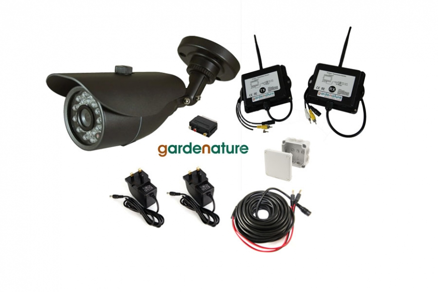 Wireless garden camera |gardenature.co.uk