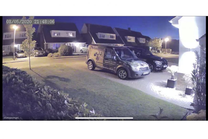Outdoor IP camera | gardenature
