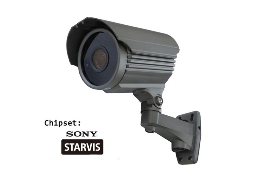 Weatherproof Night vision IP camera