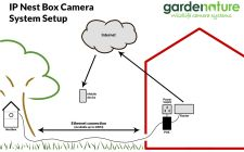 setting up a Nest box IP camera