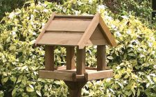 Bisley bird table from gardenature