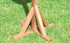 Bisley bird table feet