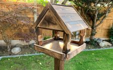 Wooden Bird Tables - The Frinton