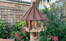 Carousel roof bird table | gardenature