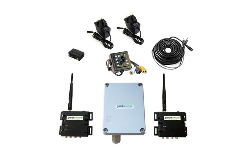 wireless mitters kit for bird box cameras