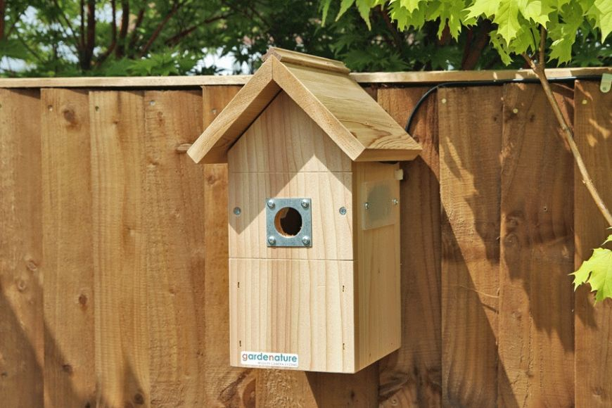 camera nest boxes from gardenature