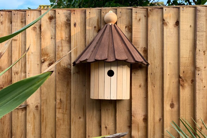 The Kirby bird box | Gardenature