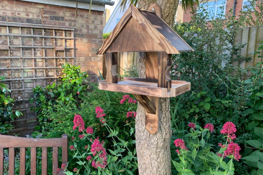 small garden bird table | gardenature