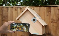 IP Camera Bird Box System - SideView
