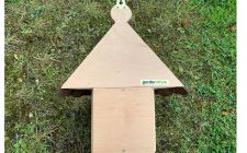 Kirby Dovecote bird box-BACK