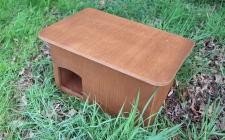 nesting box for ducks | gardenature.co.uk