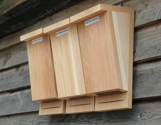 Bat Boxes - Bat Habitats | Gardenature