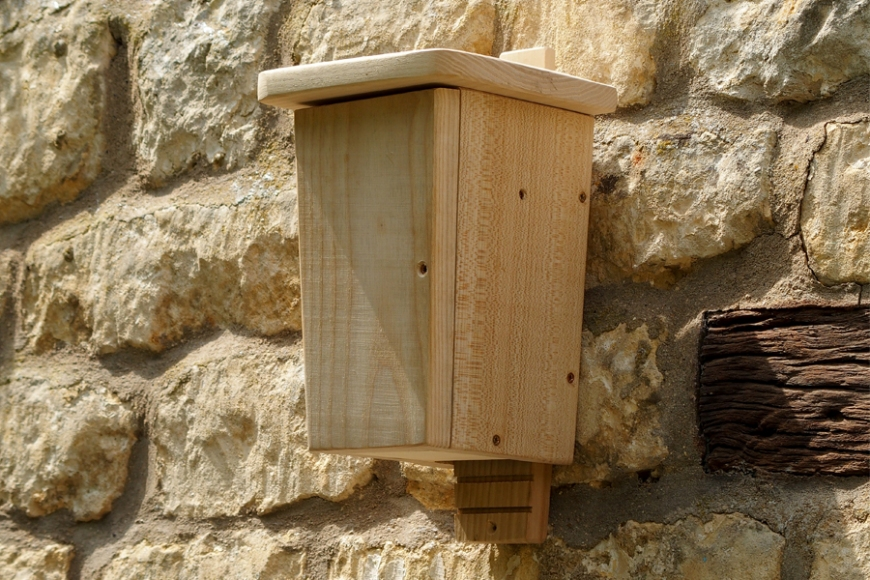 wildlife world bat box - gardenature.co.uk