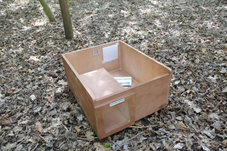 camera hedgehog box -gardenature.co.uk