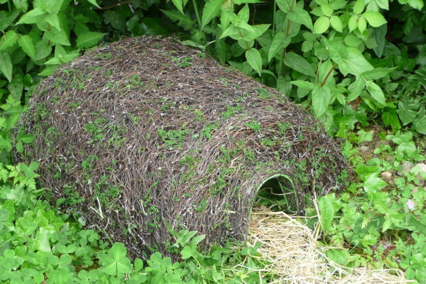 hedgehog home - gardenature.co.uk