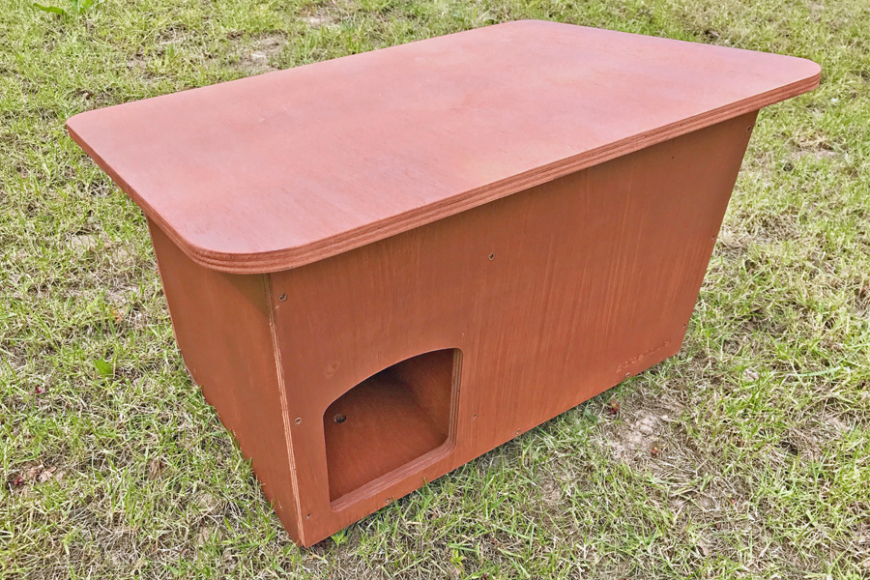 duck roost box | gardenature.co.uk