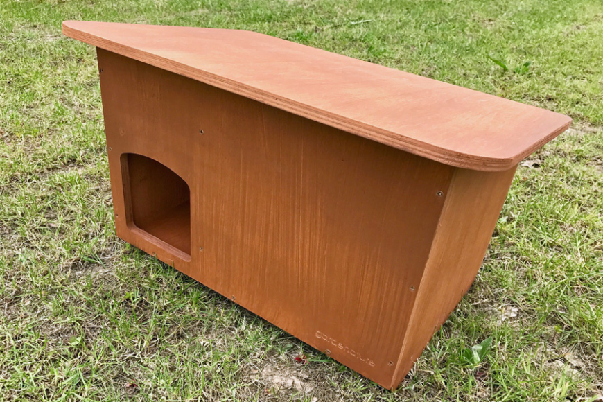 Box for ducks   gardenature.co.uk