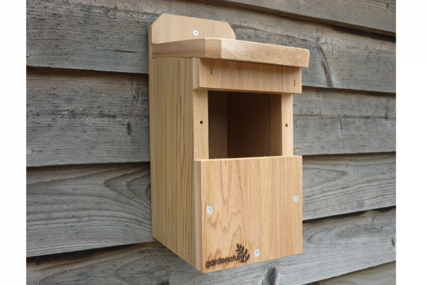 open fronted bird box