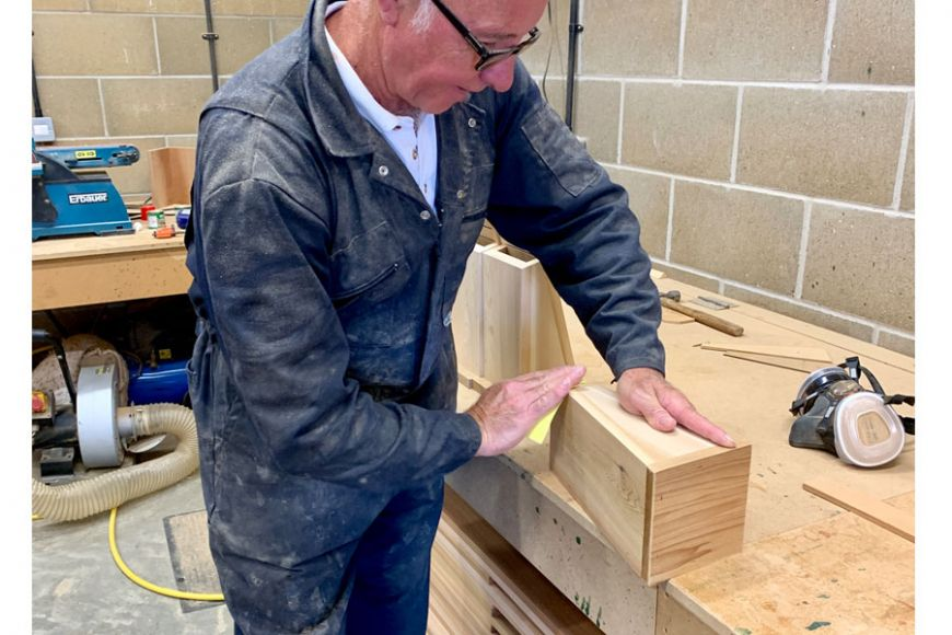 handmade nest boxes for bats